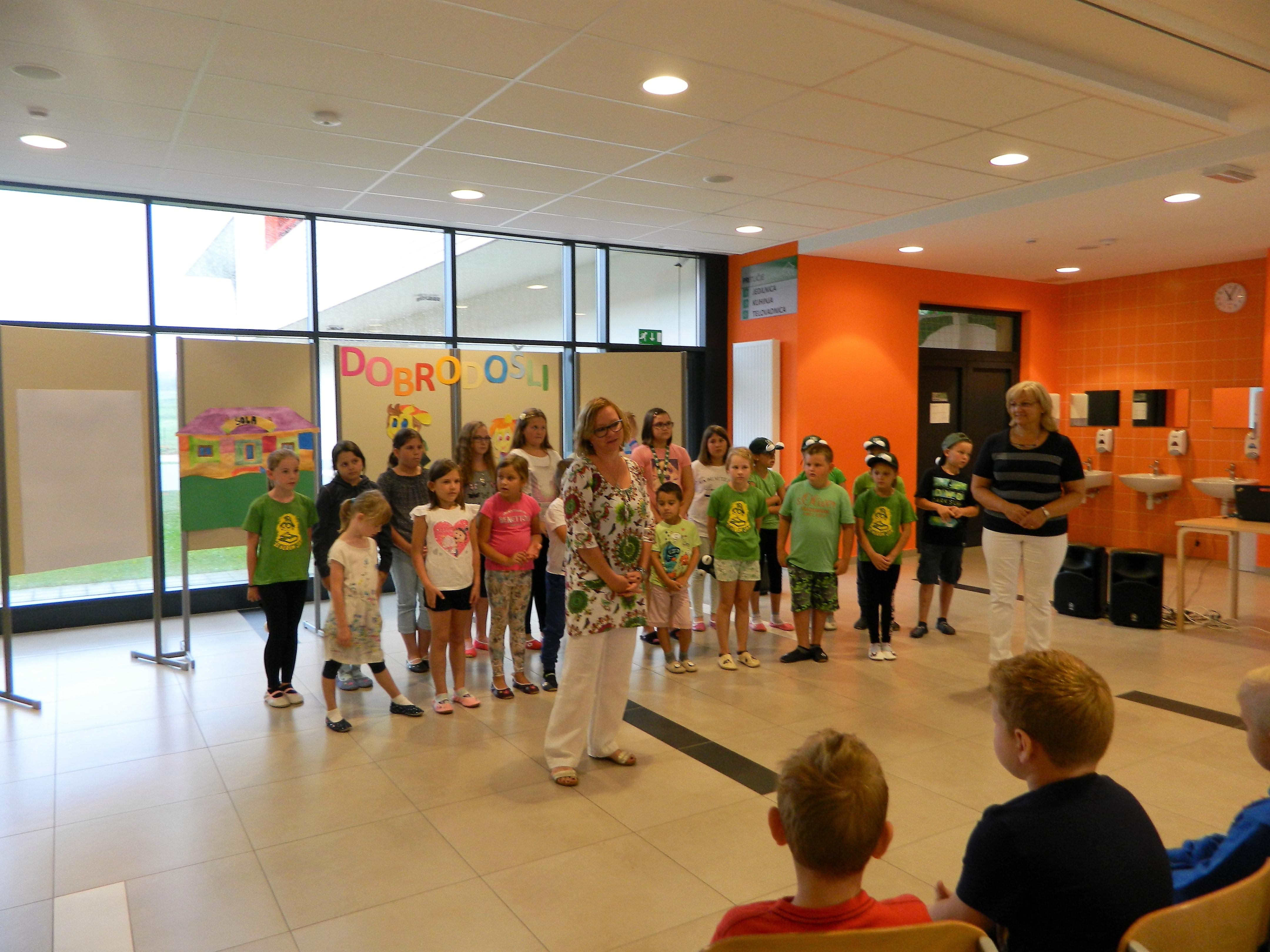 Prvi šolski dan na PŠ Zagradec