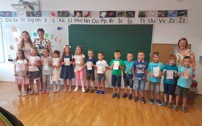 Prvi šolski dan in sprejem prvošolcev